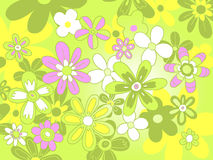 Floral pattern background Royalty Free Stock Photo