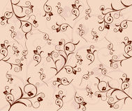 Floral pattern background. Vector illustration Royalty Free Stock Photography