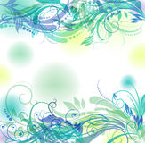 Floral pattern background Royalty Free Stock Images