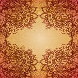 Vintage paisley ornament background Stock Photos