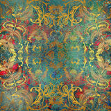 Floral pattern on background Royalty Free Stock Photo