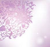 Floral pattern background. Purple floral pattern background Royalty Free Stock Photos