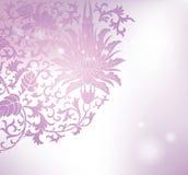 Floral pattern background. Purple floral pattern background vector illustration