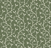 Floral pattern with butterfilies Royalty Free Stock Image