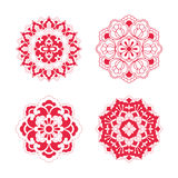 Floral Pattern of China style Stock Images