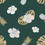 Floral pattern design royalty free illustration