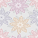 Floral pattern design Royalty Free Stock Photo