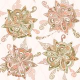 Floral pattern in eastern style Stock Photos