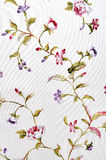 Floral pattern  fabric Stock Images