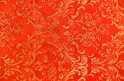 Floral pattern on the fabric. High resolution floral pattern on the fabric in the Victorian style Stock Photo