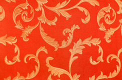 Floral pattern on the fabric. High resolution floral pattern on the fabric in the Victorian style Stock Photography