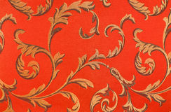 Floral pattern on the fabric Royalty Free Stock Image