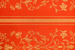 Floral pattern on the fabric. High resolution floral pattern on the fabric in the Victorian style Royalty Free Stock Photography