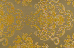 Floral pattern on the fabric. High resolution floral pattern on the fabric in the Victorian style Stock Photos