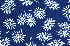 Floral pattern on fabric Stock Image