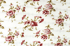 Floral pattern on fabric. Royalty Free Stock Image