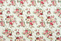Floral pattern fabric Stock Photography