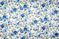 Floral pattern fabric Royalty Free Stock Photo