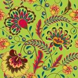 Floral pattern Flourish tiled oriental ethnic background Stock Image