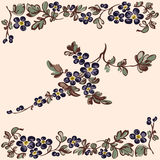 Floral pattern flower decorative elements Stock Photography