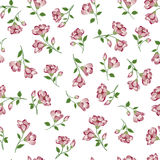 Floral pattern. Flower seamless background. Flourish ornamental. Floral seamless pattern. Flower flow background. Florals watercolored texture with flowers stock illustration