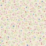 Floral pattern. Flower seamless background. Flourish ornamental. Spring texture stock illustration