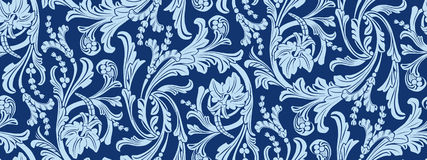 Floral pattern with flowers stock illustration