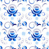 Floral pattern in Ghzel style Stock Photography