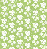 Floral pattern. Hop Royalty Free Stock Image
