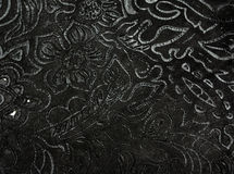 Floral pattern leather background Royalty Free Stock Photo