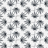 Floral pattern. Leaves texture. Stylish abstract vector plant ornamental background Royalty Free Stock Image