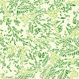 Floral pattern leaves textured tiled background Ornamental flour Stock Image