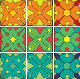 Floral pattern medieval ars nuovo Stock Image