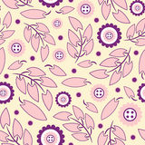 Floral pattern in modern Royalty Free Stock Image