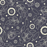 Floral pattern in modern Stock Image