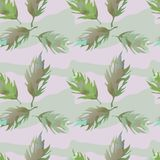 Floral pattern, monochrome gamma. Monochrome floral seamless, textile and wallpaper royalty free illustration