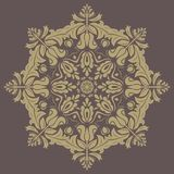 Floral  Pattern. Orient Abstract Background. Floral  oriental pattern with damask, arabesque and floral elements. Abstract wallpaper and background Stock Photos