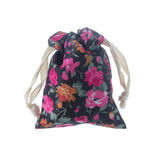 Floral Pattern pouch Stock Photo