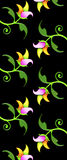 Floral pattern/print Royalty Free Stock Images