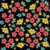 Floral pattern retro seamless Stock Photos