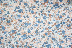Floral pattern on seamless cloth. Flower bouquet. Royalty Free Stock Image