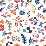 Floral pattern seamless pattern Stock Photos