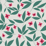 Floral  pattern. Seamless doodle flowers. Royalty Free Stock Images