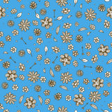 Floral pattern seamless Stock Image