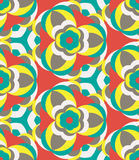 Floral pattern. Floral seamless pattern hippie style Stock Photography