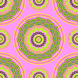 Floral pattern seamless. Mandala ethnic pattern. Seamless patter Royalty Free Stock Image