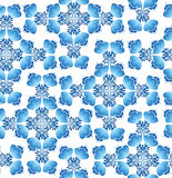 Floral pattern seamless in russian style. Stock Photography