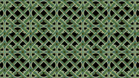 Floral pattern. Seamless structure. Celtic motif Stock Image