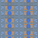 Floral pattern for seamless Stock Images