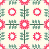 Floral Pattern Seamless Tile Royalty Free Stock Photography